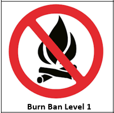 burn ban level 1 icon